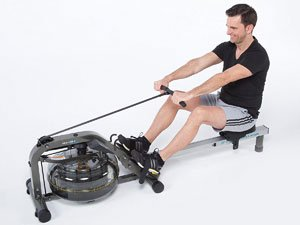 Skandika Nemo Aqua Rower Liquid Rowing Machine