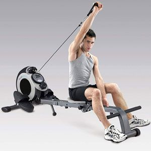 Body Sculpture 2-in-1 Magnetic Rower 'N' Gym