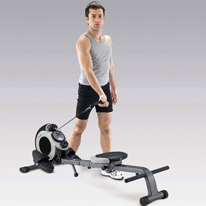 Body Sculpture 2-in-1 Magnetic Rower